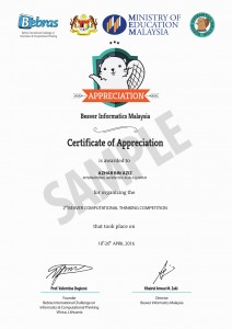 BIC_CERTIFICATE 2016_TEACHER KPM_SAMPLE